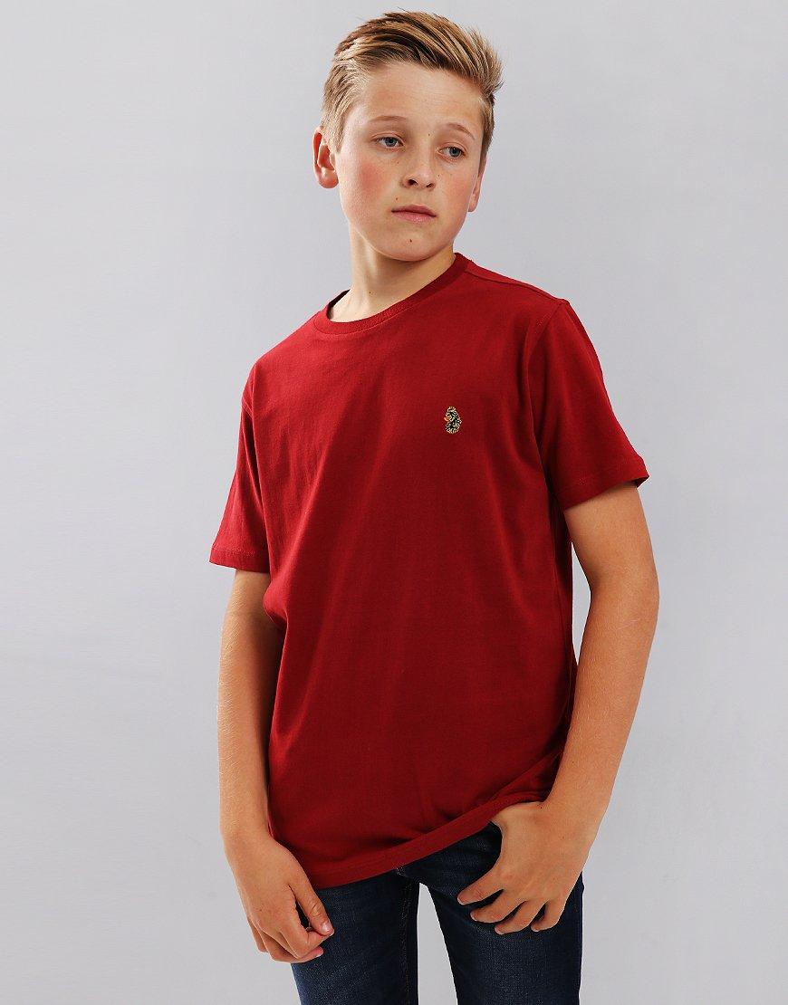 Luke Kids Hotdog tT-Shirt Deep Red