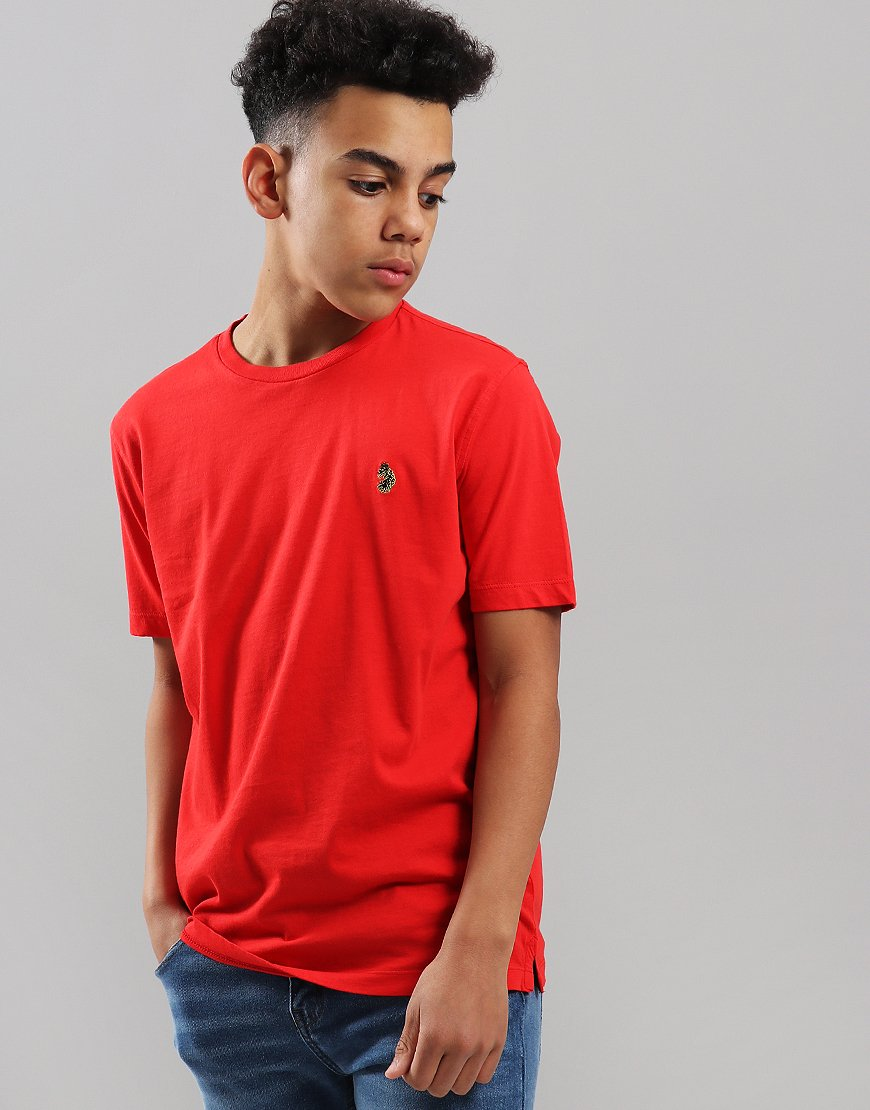 Luke 1977 Kids Hotdog T-Shirt Marina Red