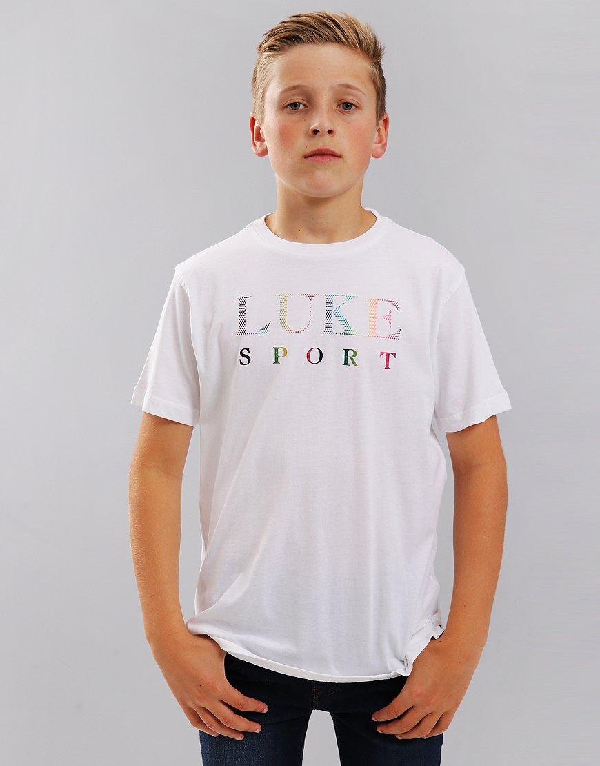 Luke 1977 Junior Maximum Boy T-Shirt White
