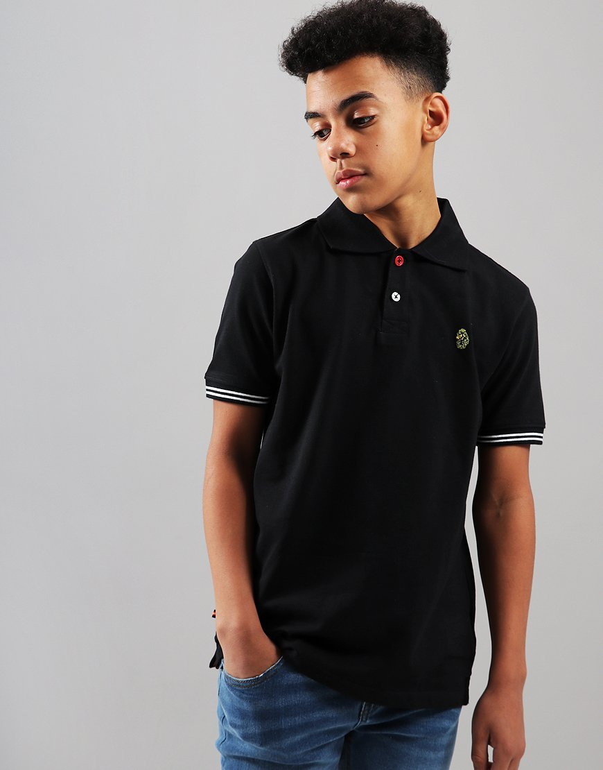 Luke 1977 Kids New Mead Polo Shirt Black