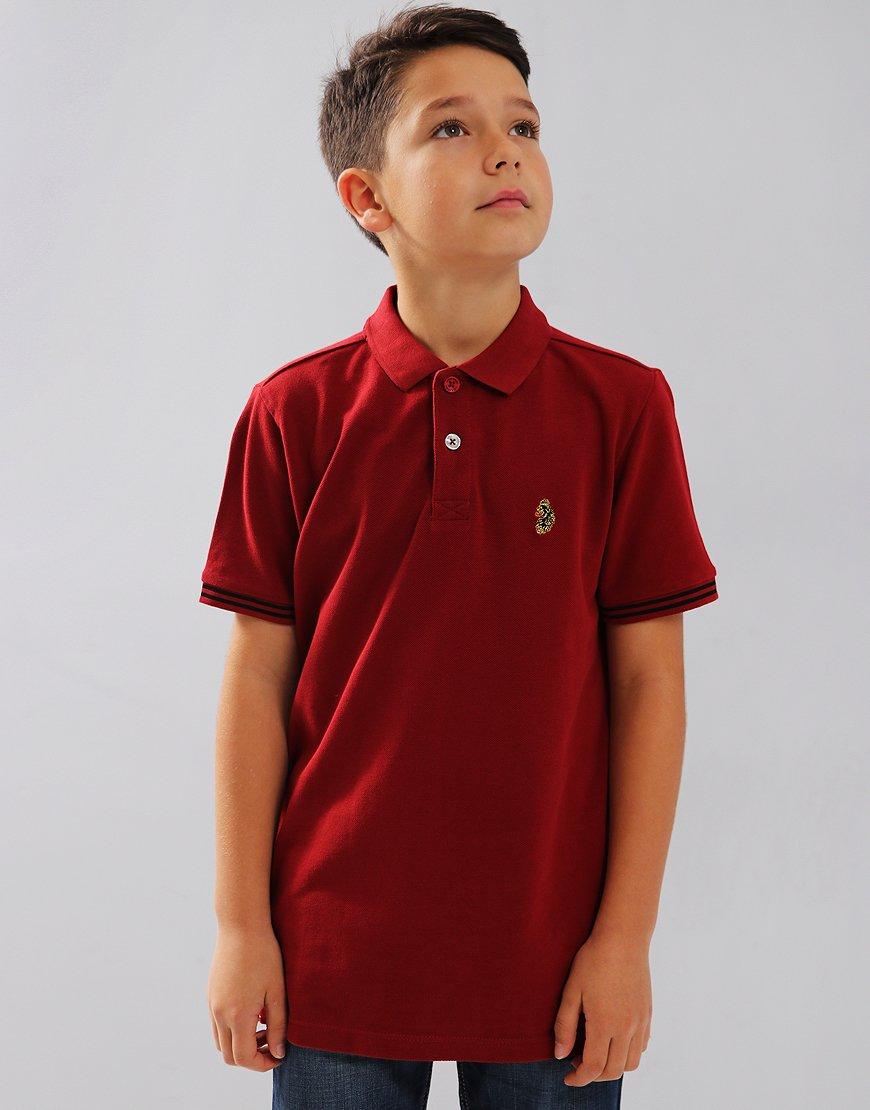 Luke Kids New Mead Polo Shirt Deep Red