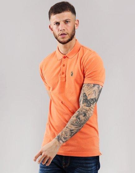 Luke 1977 Williams Polo Shirt Tiger Orange