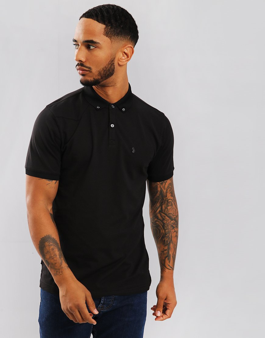 Luke 1977 Billiam Polo Shirt Jet Black