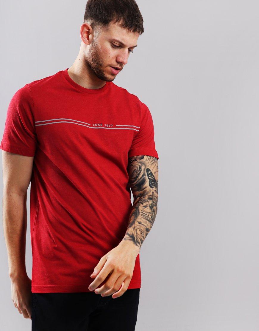 Luke 1977 Holly B T-Shirt Burnt Red
