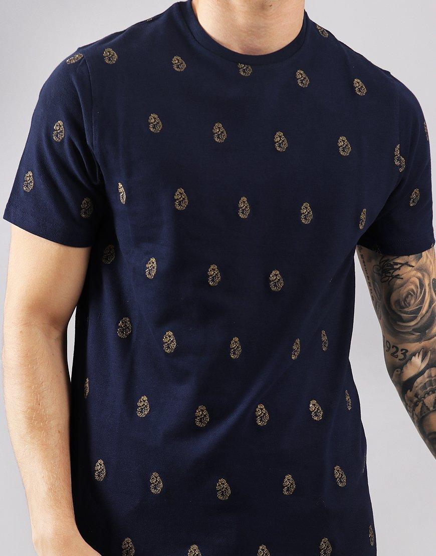Luke 1977 Marbella AOP T-Shirt Navy