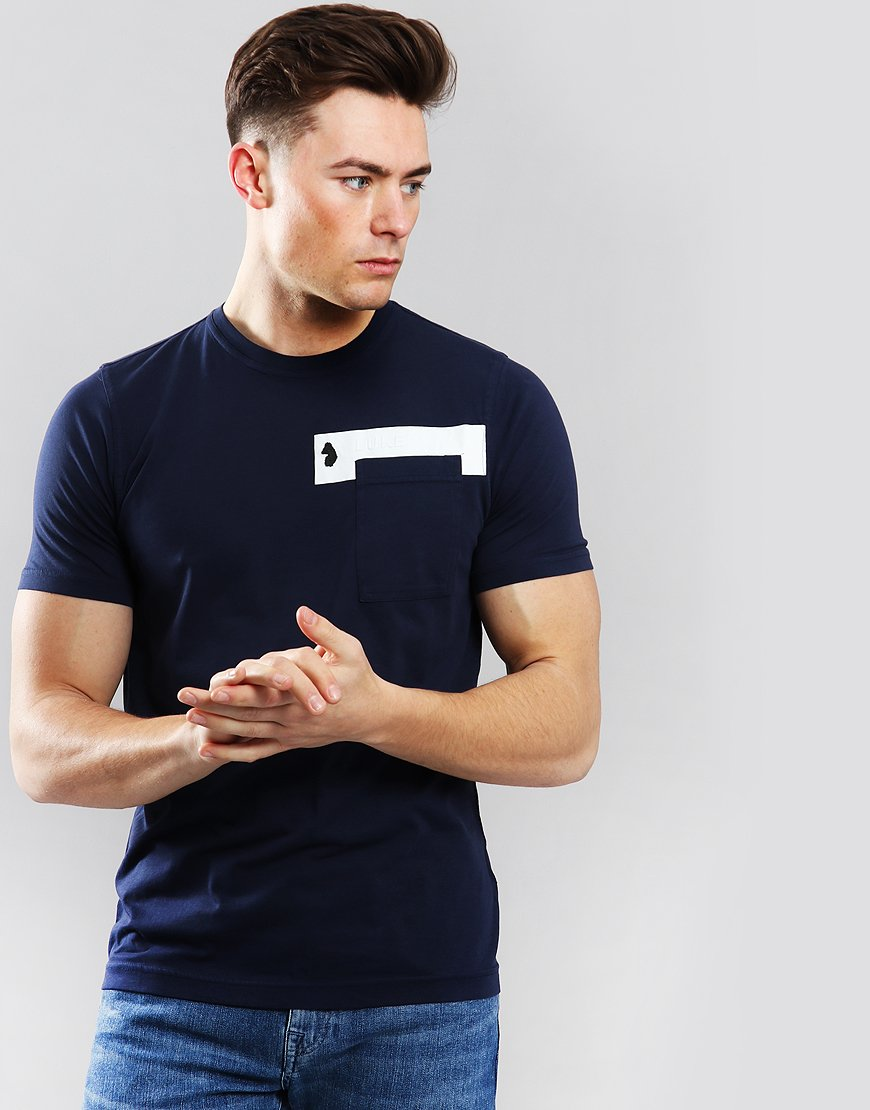 Luke 1977 Pocket The Difference T-Shirt Navy