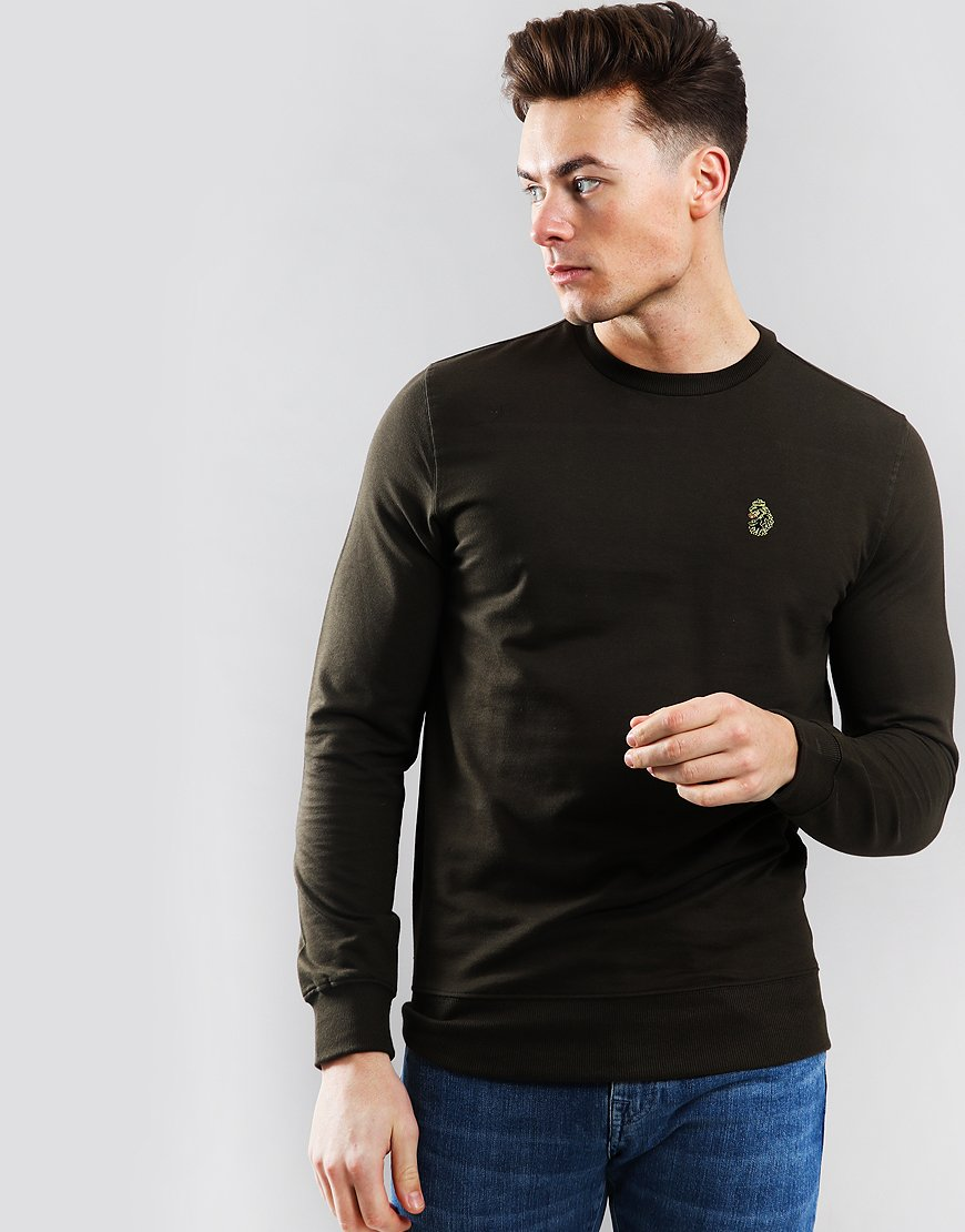 Luke 1977 The Runner Crew Sweat Khaki