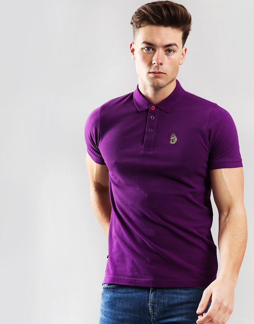 Luke 1977 Williams Polo Shirt Hot Purple