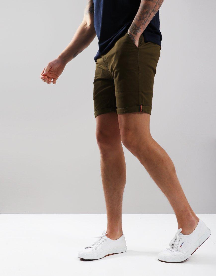 Luke 1977 Corbite Chino Shorts Khaki