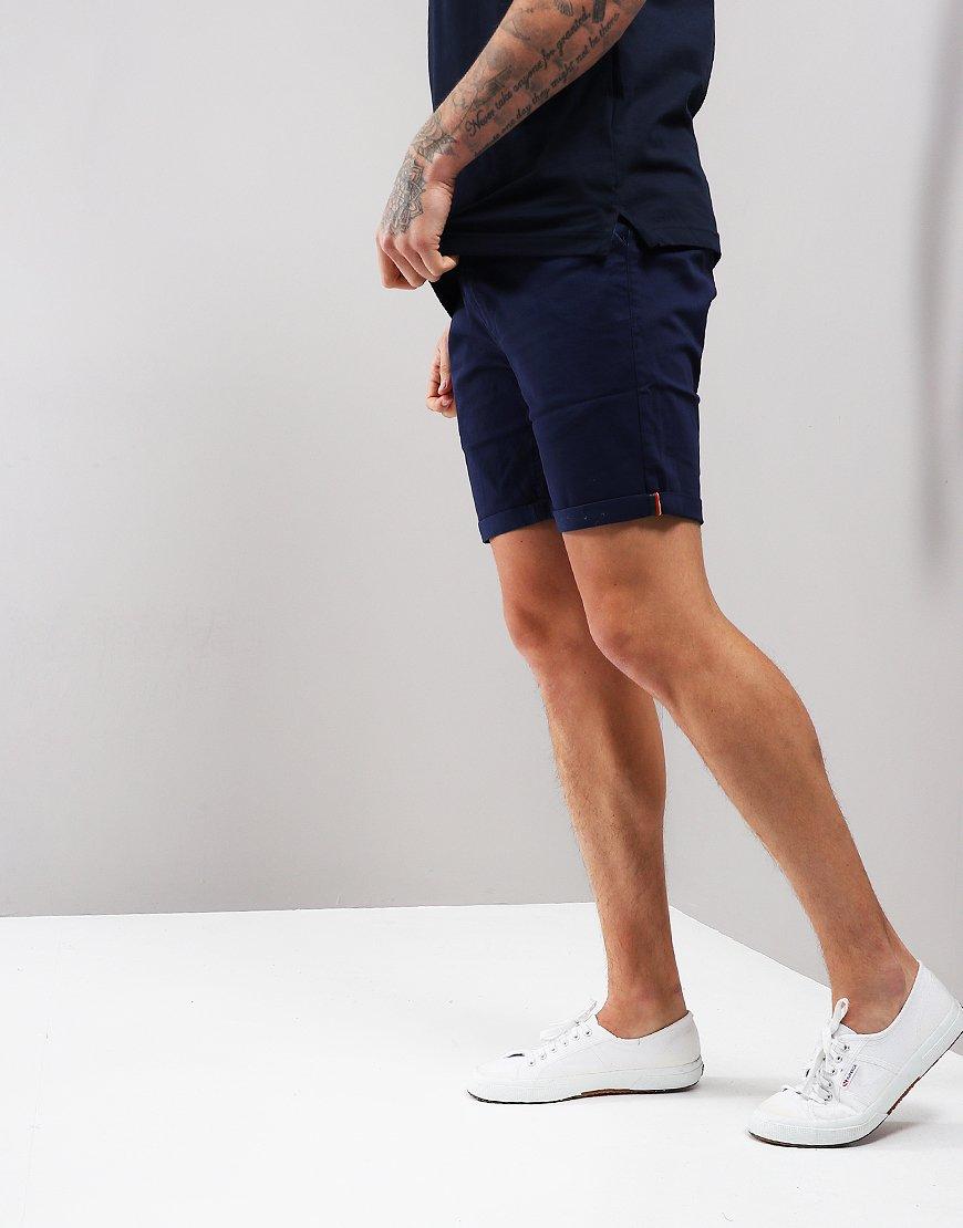 Luke 1977 Corbite Chino Shorts Navy