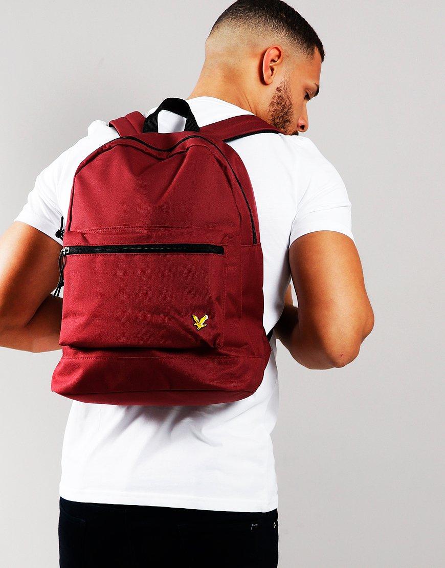 Lyle & Scott Core Backpack Burgundy