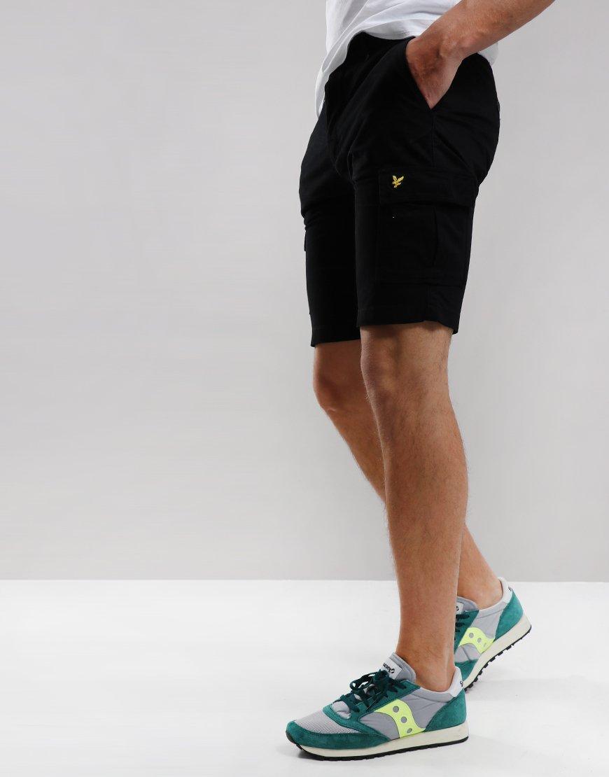 Lyle & Scott Cargo Shorts Black