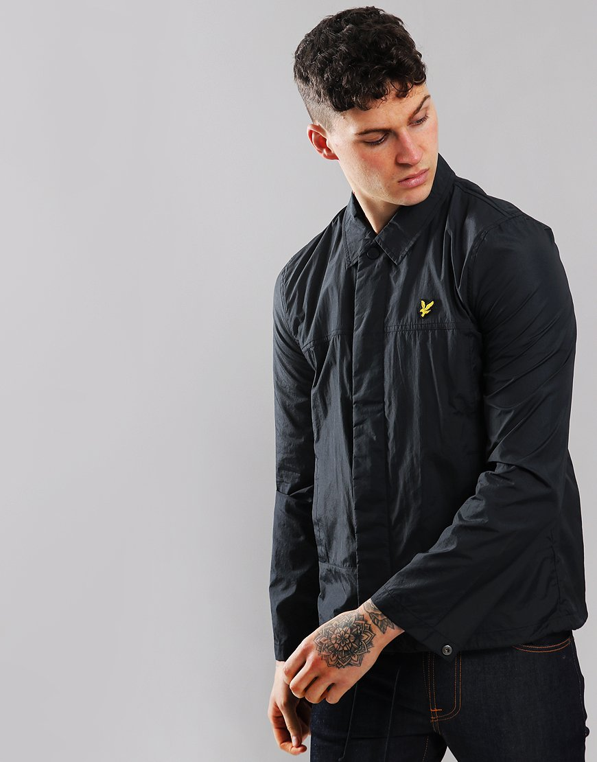 Lyle & Scott Nylon Coach Jacket Dark Navy
