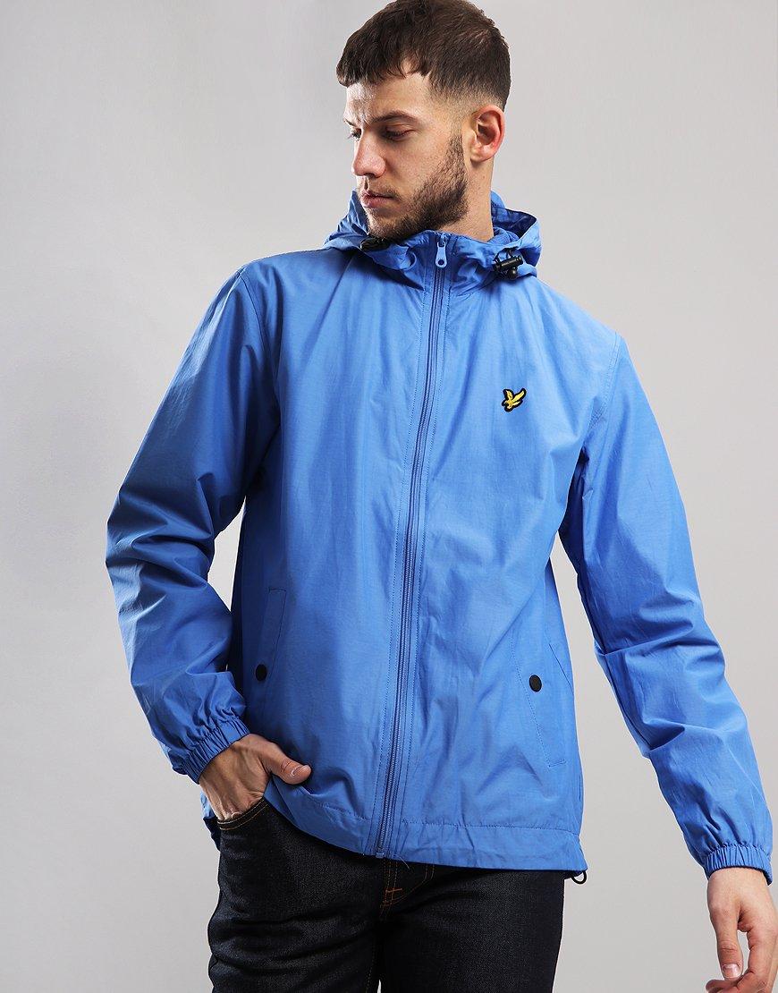 Lyle & Scott Hooded Jacket Cornflower Blue