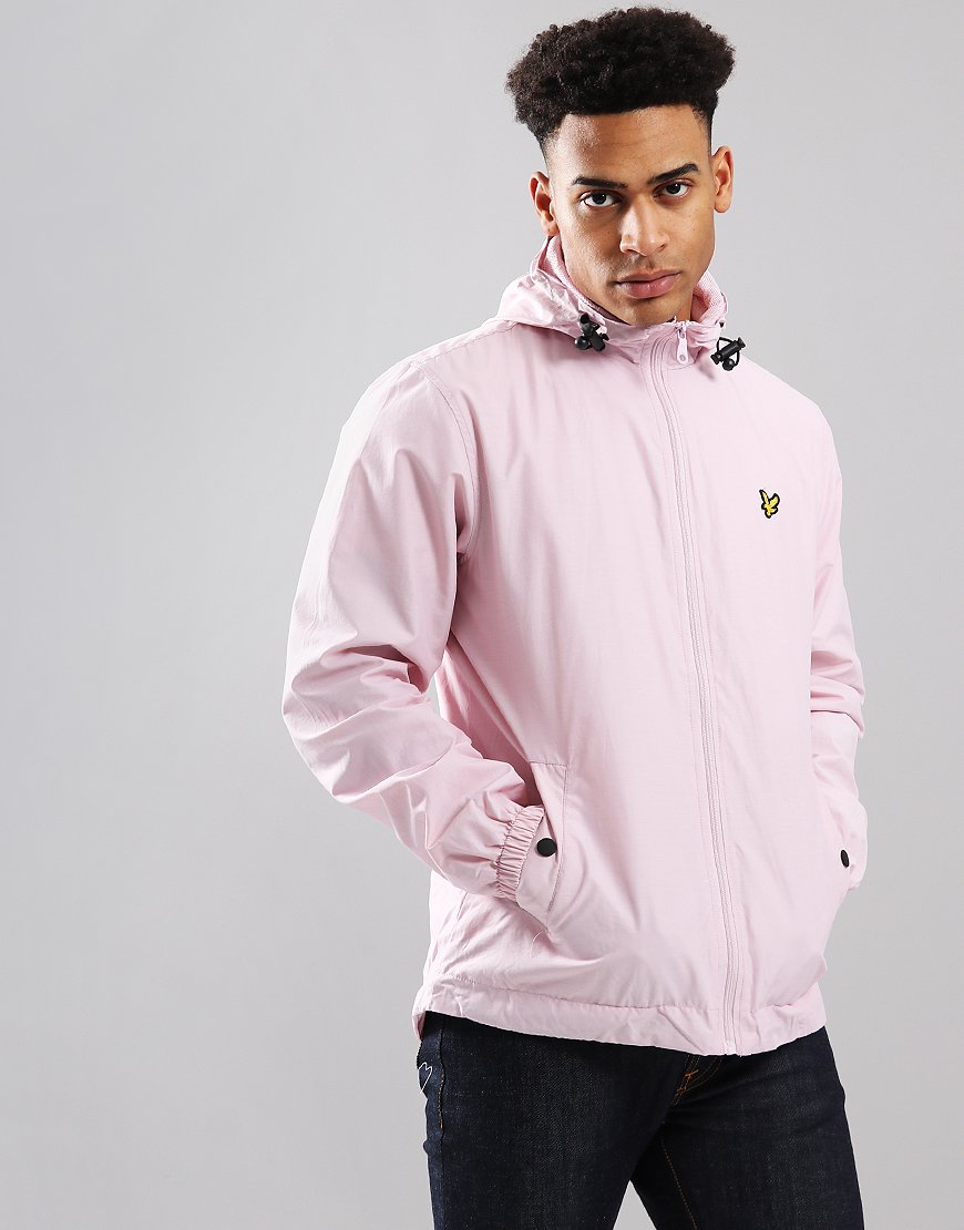 Lyle & Scott Hooded Jacket Dusky Lilac