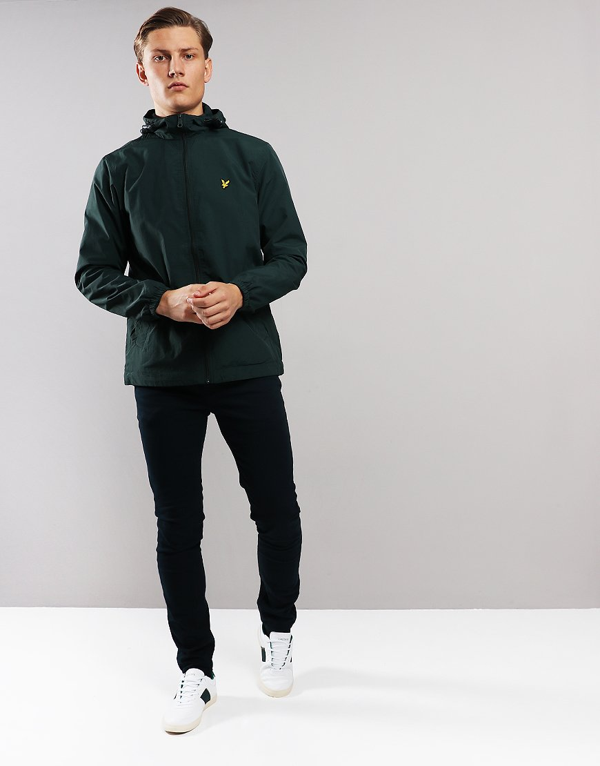 Lyle & Scott Hooded Jacket Jade Green