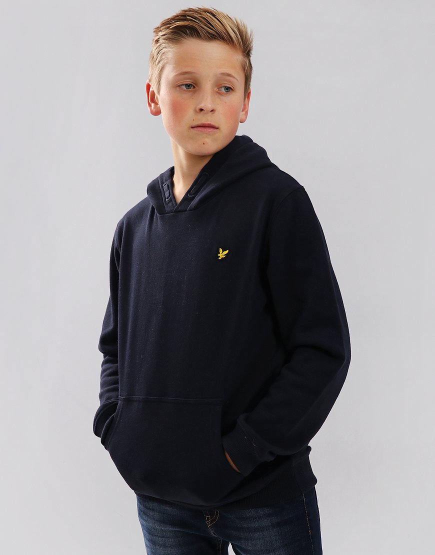 Lyle & Scott Junior Pullover Hoodie Navy