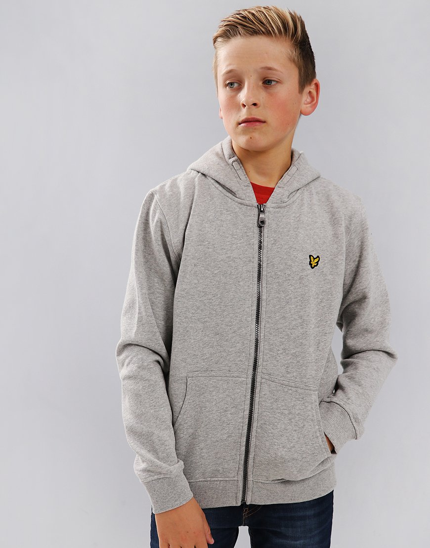 Lyle & Scott Junior Classic Hoodie Grey