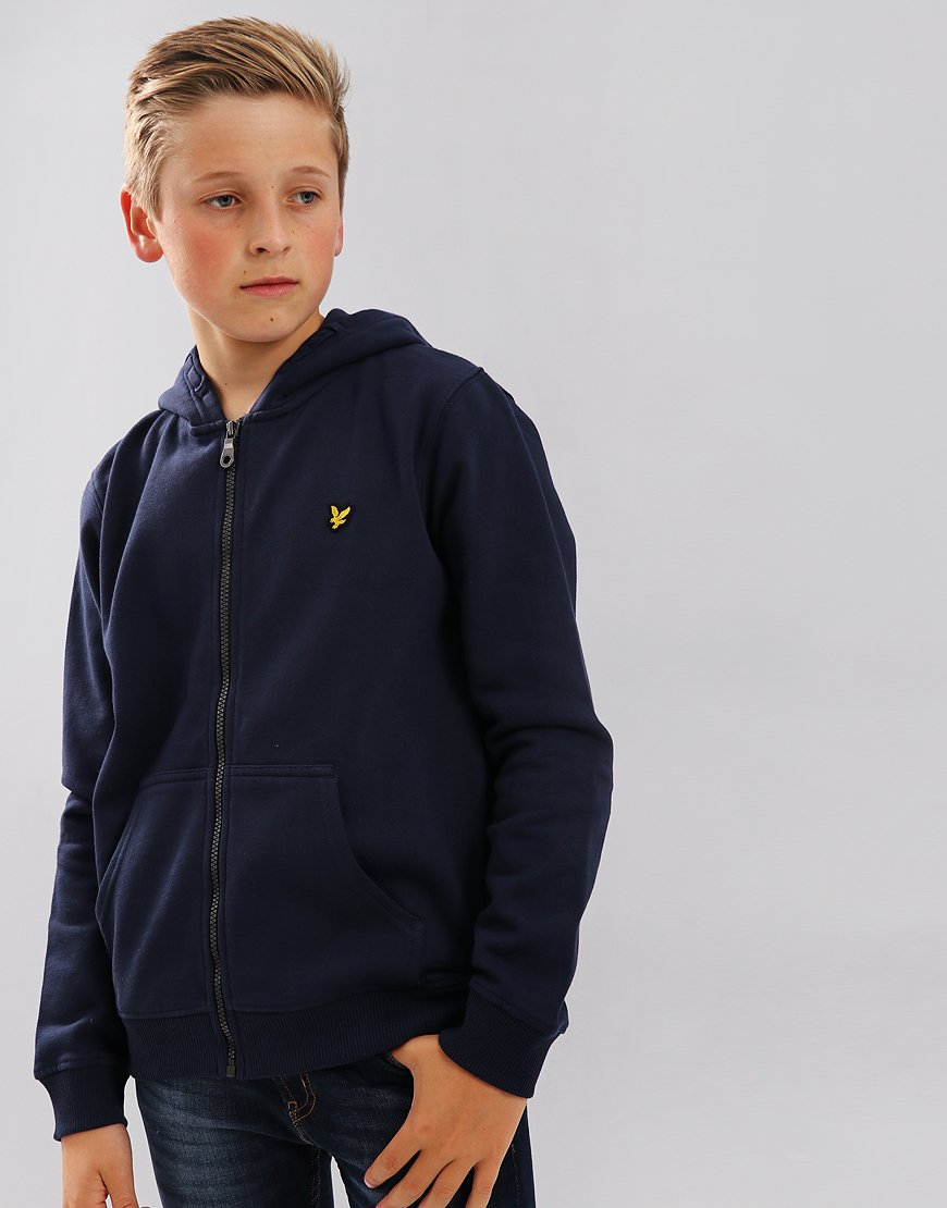 Lyle & Scott Junior Classic Hoodie Deep Indigo
