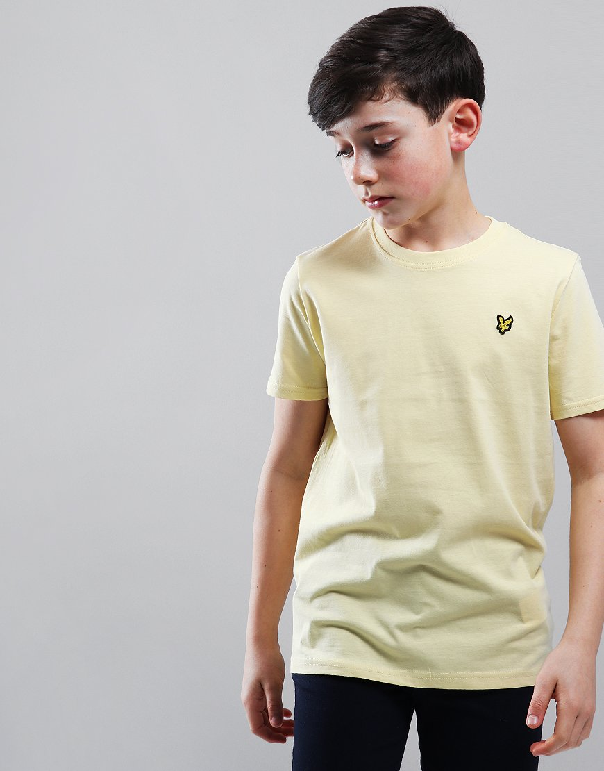 Lyle & Scott Junior Classic T-Shirt Vanilla Cream
