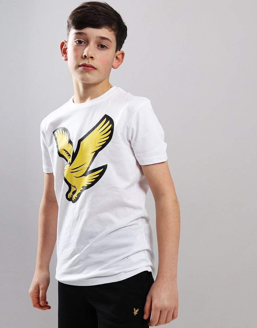 Lyle & Scott Junior Eagle Logo T-Shirt Bright White