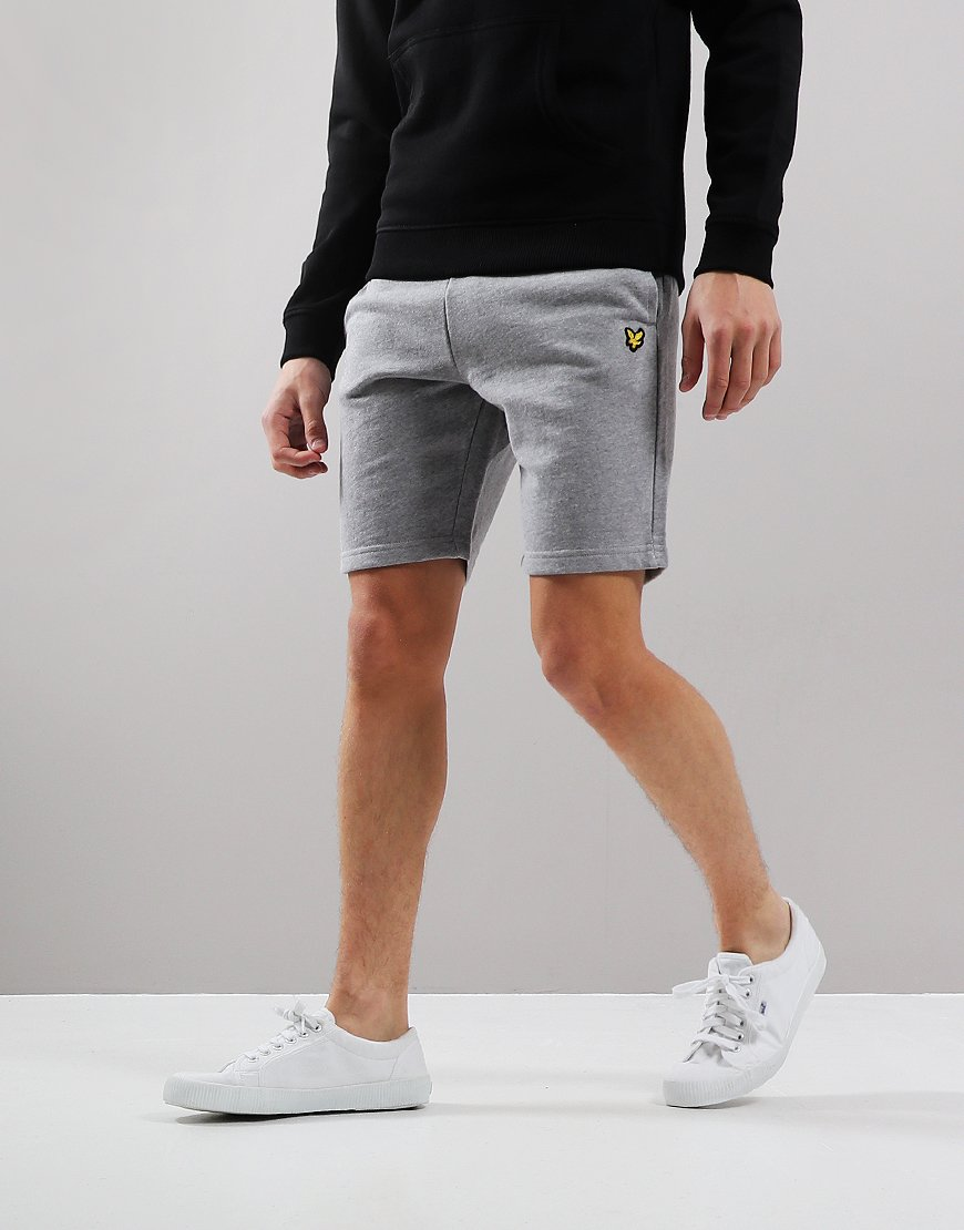 Lyle & Scott Junior Fleece Shorts Vintage Grey Heather