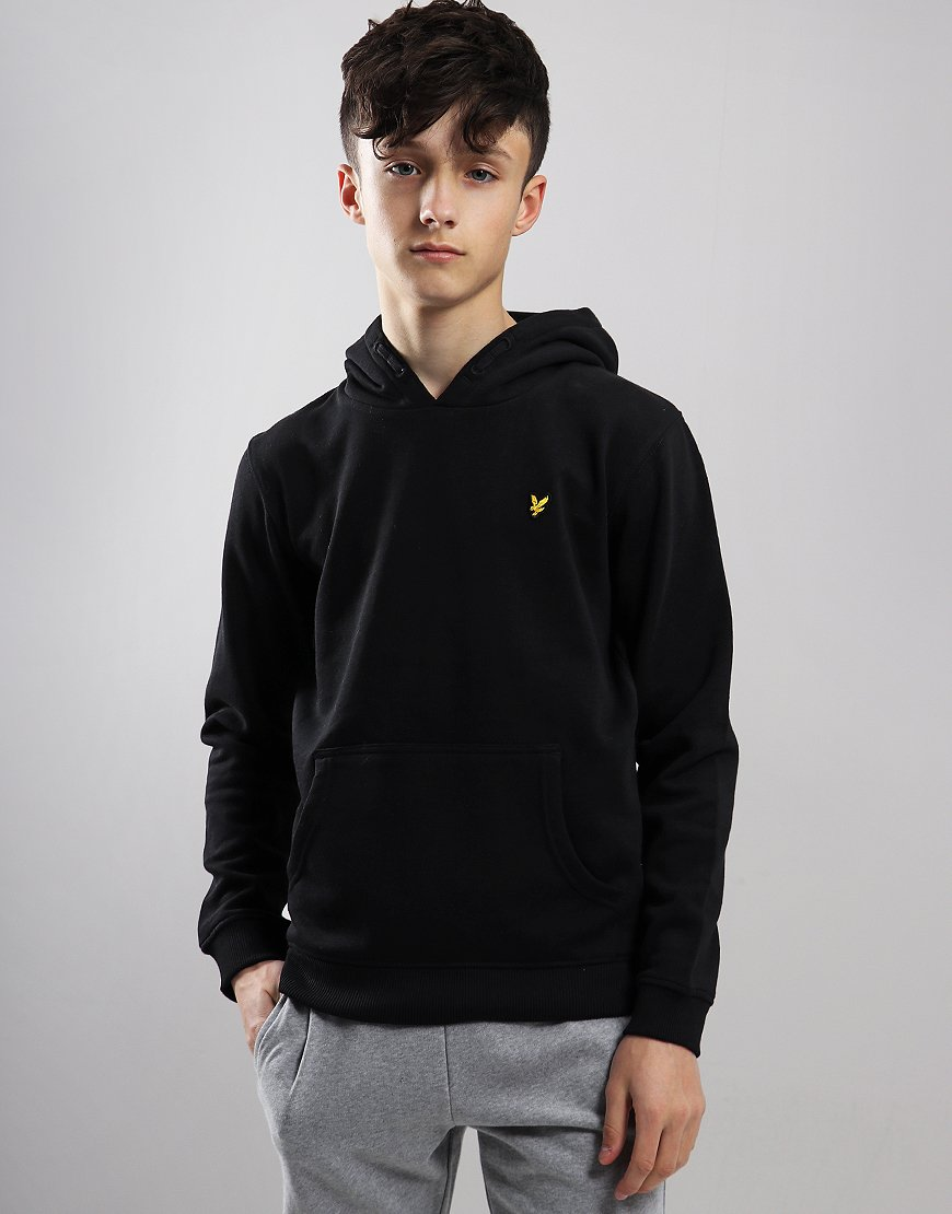 Lyle & Scott Junior Pullover Hoodie Black