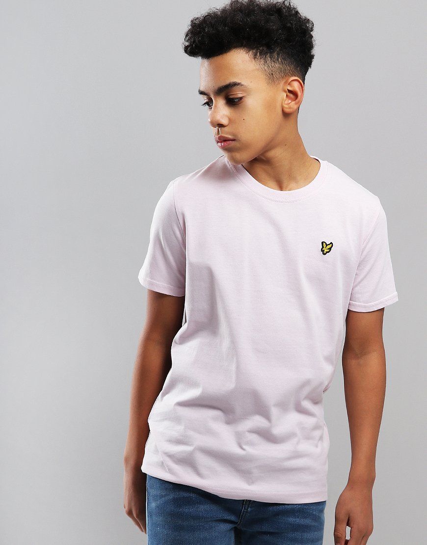 Lyle & Scott Junior Classic T-Shirt Dusky Lilac
