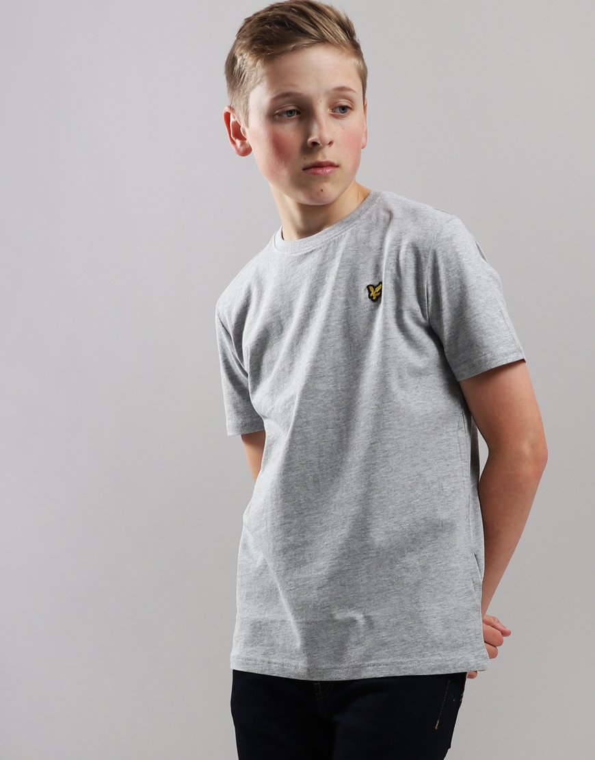Lyle & Scott Junior Classic T-Shirt Vintage Grey Heather