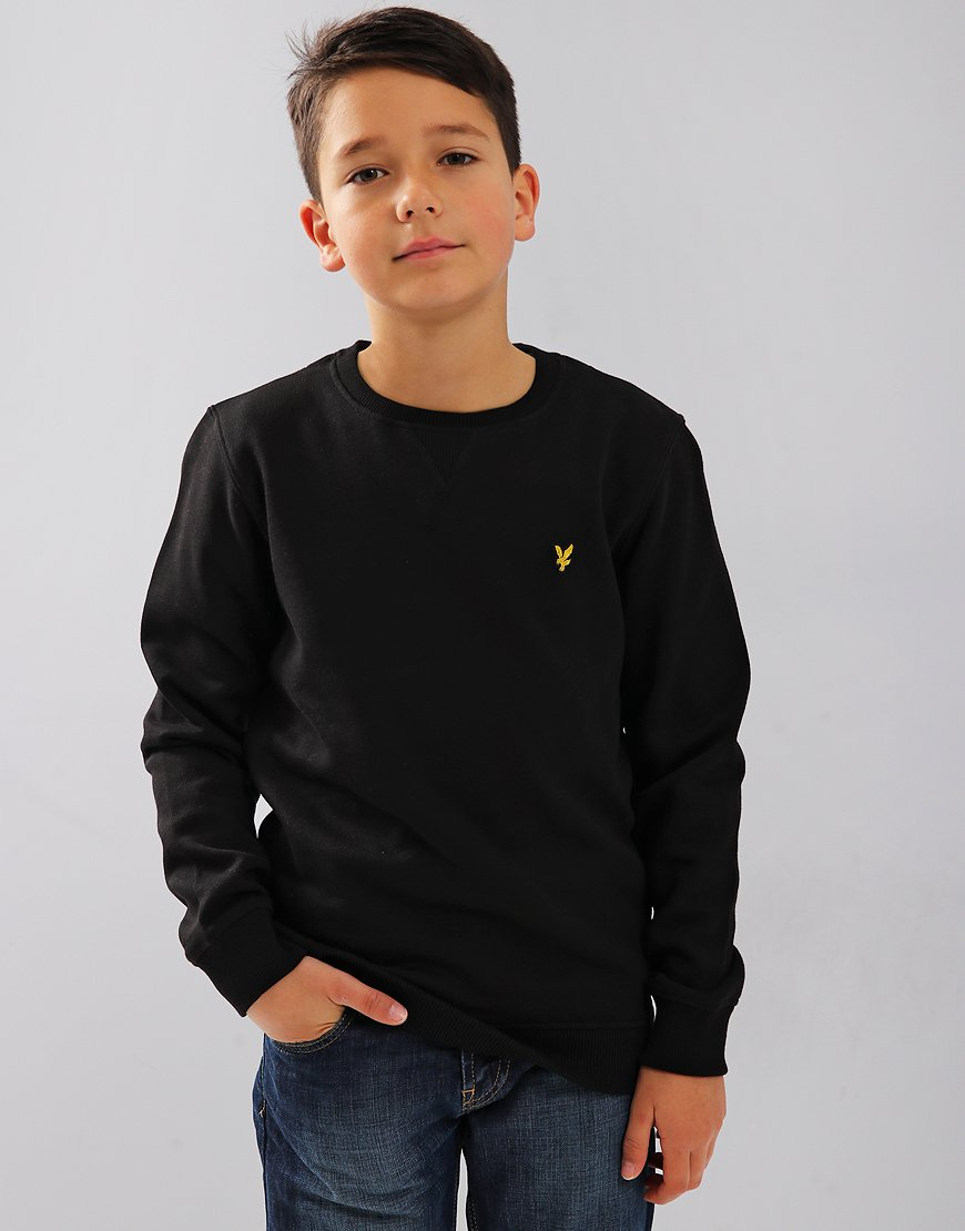 Lyle & Scott Junior Crew Neck Sweat Black