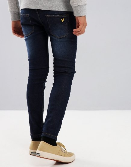 Lyle & Scott Junior Skinny Jeans Denim Light Rinse