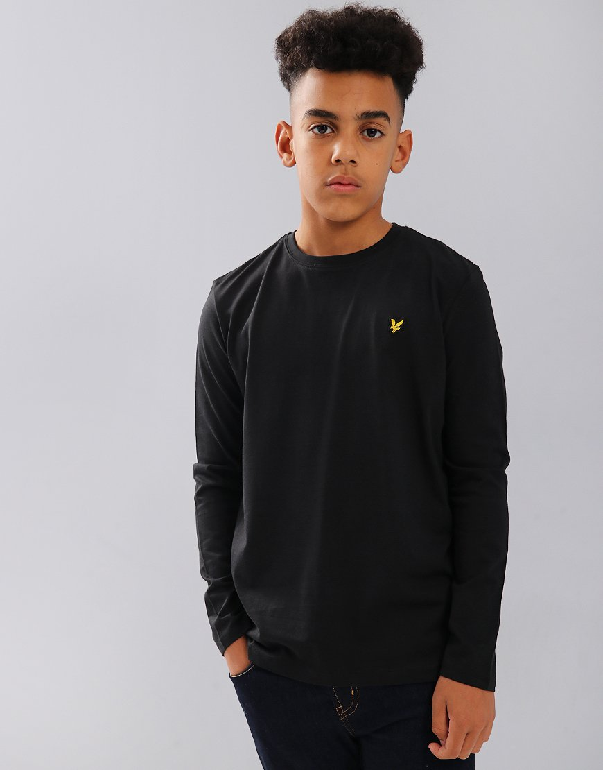 Lyle & Scott Junior Long Sleeved Classic T-Shirt Black