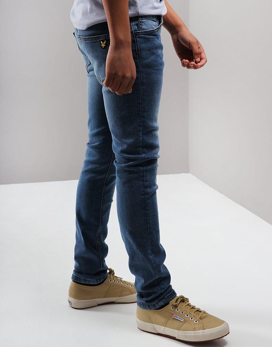 Lyle & Scott Junior Skinny Jeans Light Worn