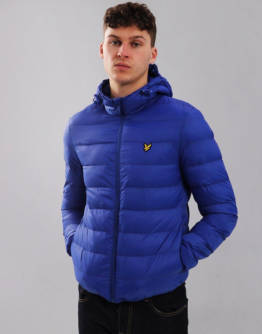 Lyle & Scott Light Puffer Jacket Duke Blue