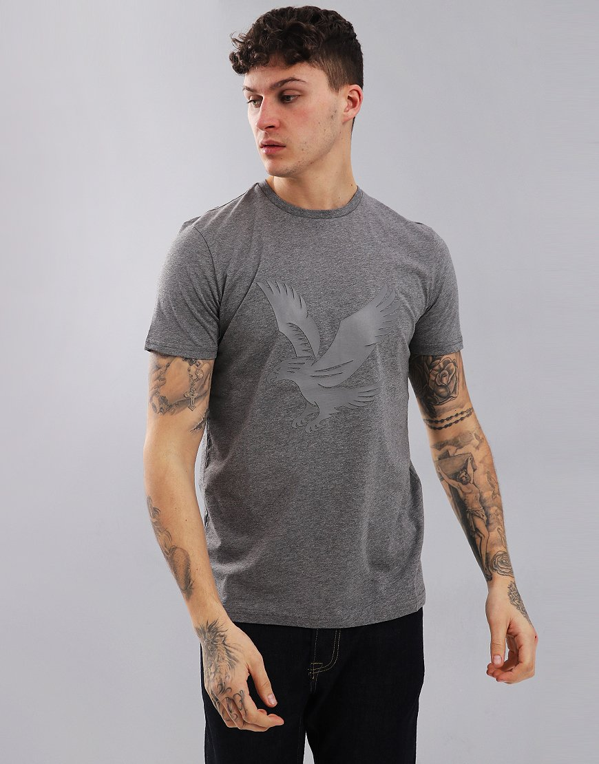 Lyle & Scott Logo T-Shirt Mid Grey Marl