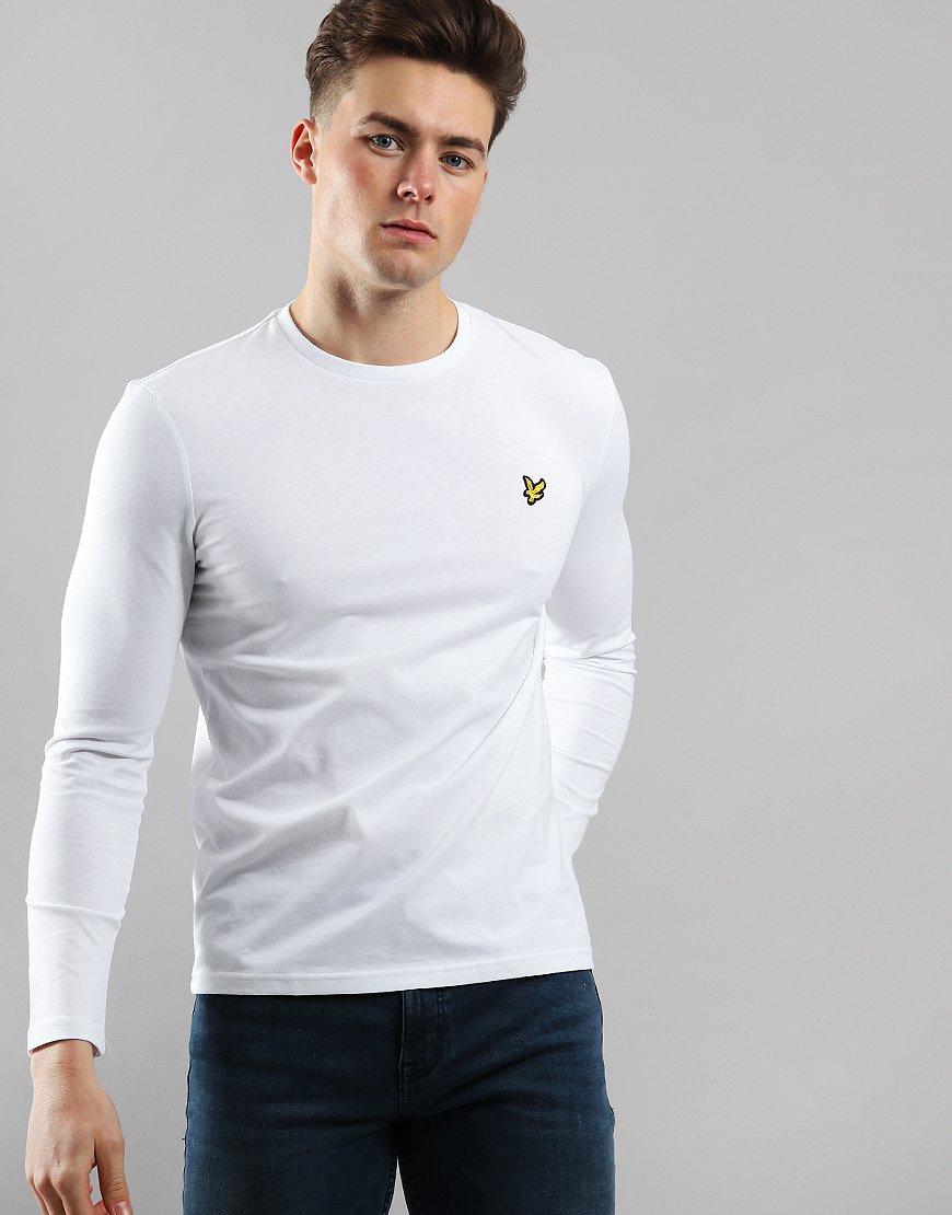 Lyle & Scott Long Sleeve T-Shirt White
