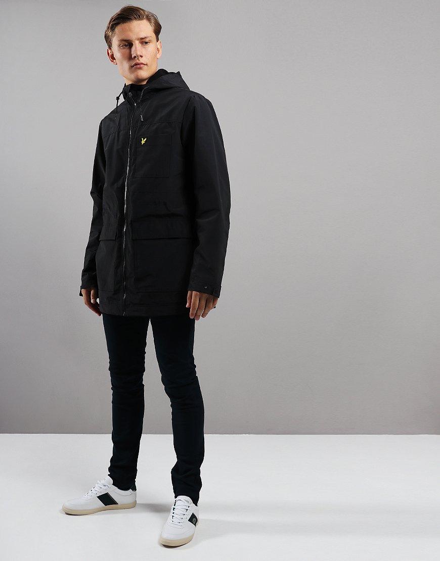 Lyle & Scott Micro Fleece Lined Jacket True Black