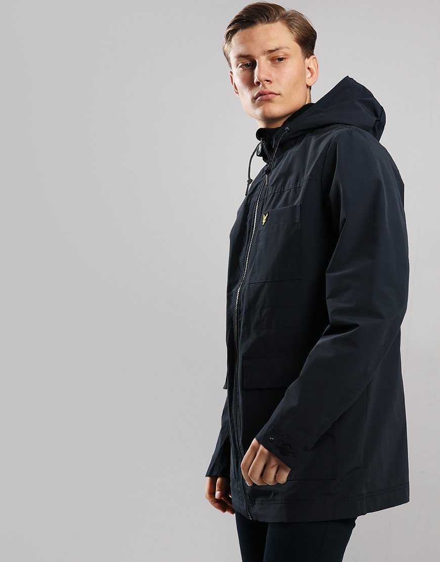 Lyle & Scott Micro Fleece Lined Jacket Dark Navy