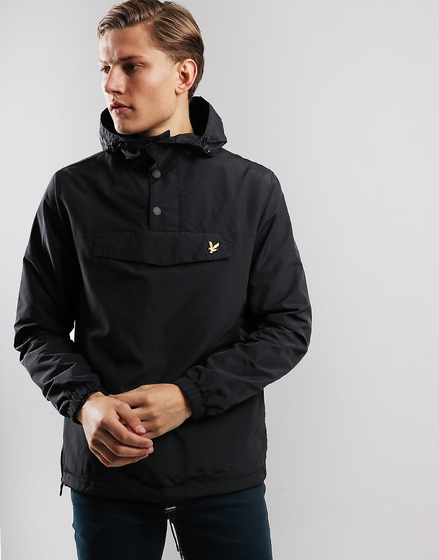 Lyle & Scott Overhead Anorak Black