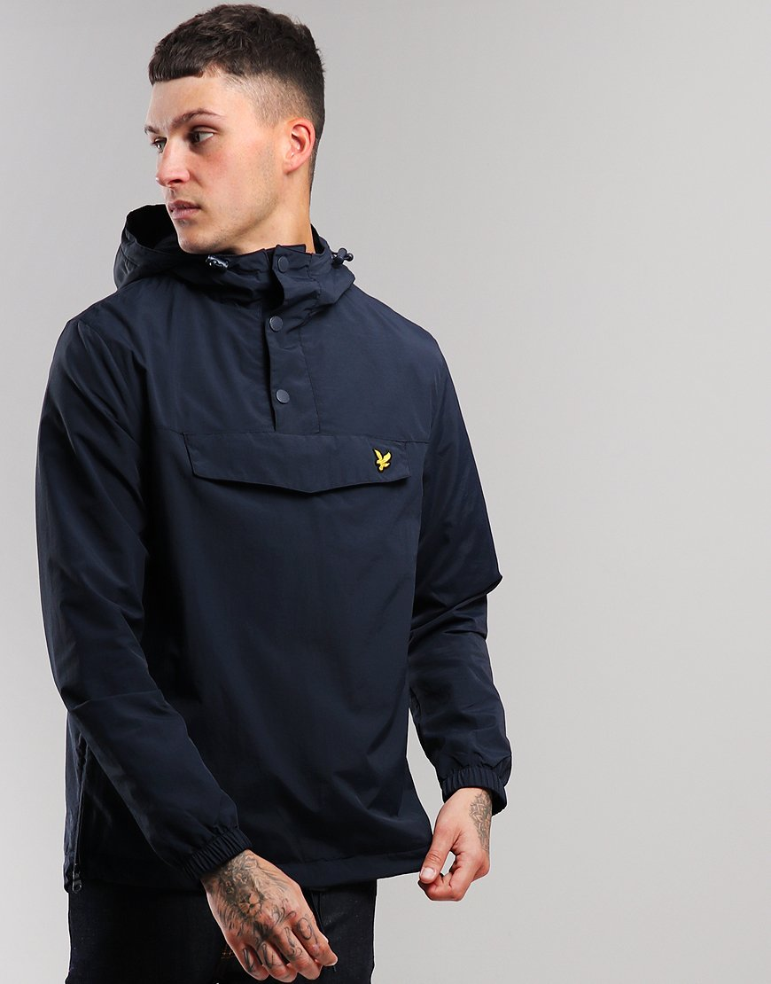 Lyle & Scott Overhead Anorak Dark Navy