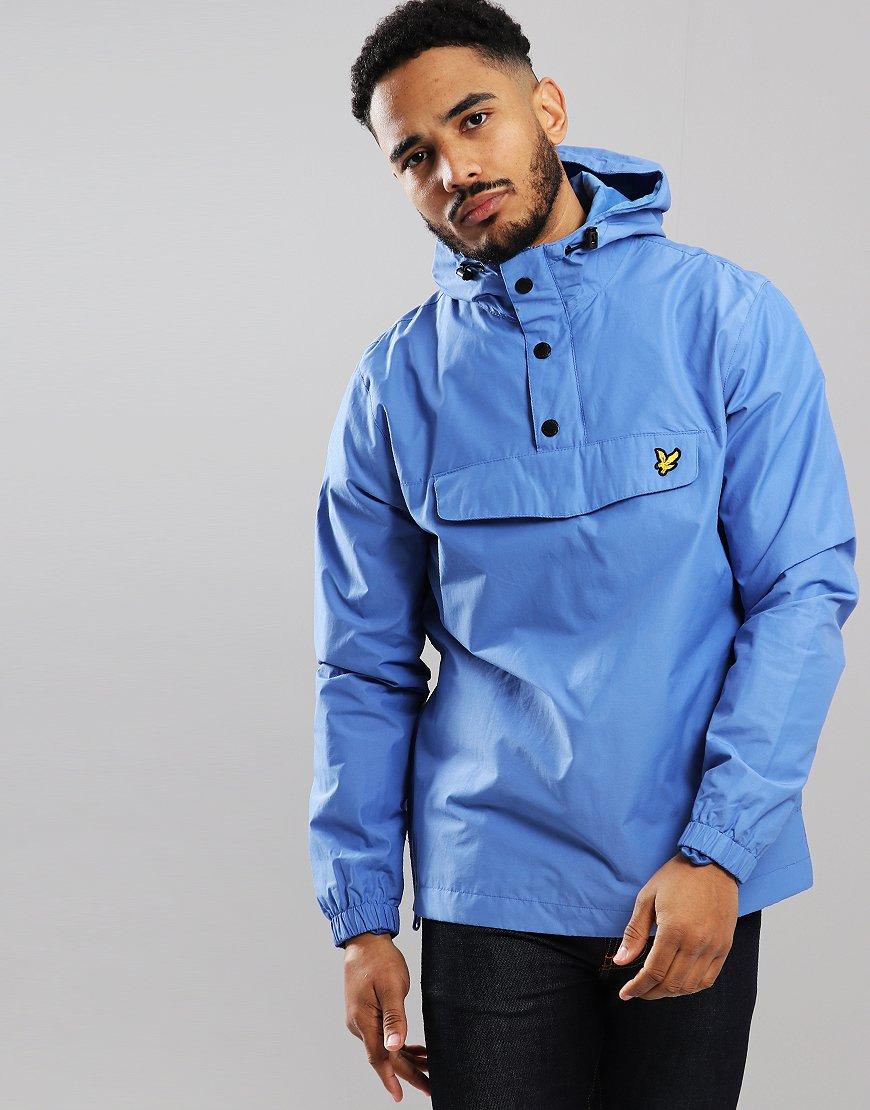 Lyle & Scott Overhead Anorak Jacket Cornflower Blue