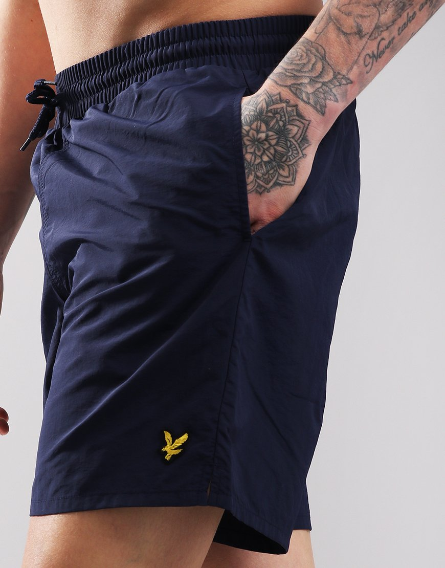8e6ff1f5c37bd Lyle & Scott Plain Swim Short Navy - Terraces Menswear
