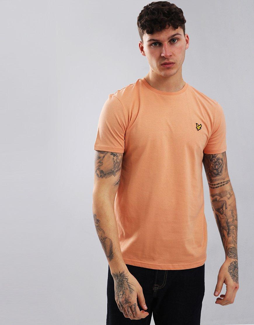 Lyle & Scott Plain T-Shirt Dusky Coral