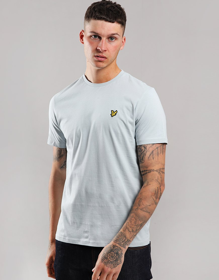 Lyle & Scott Plain T-Shirt Light Silver