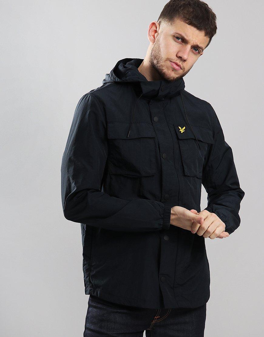 Lyle & Scott Pocket Jacket Dark Navy