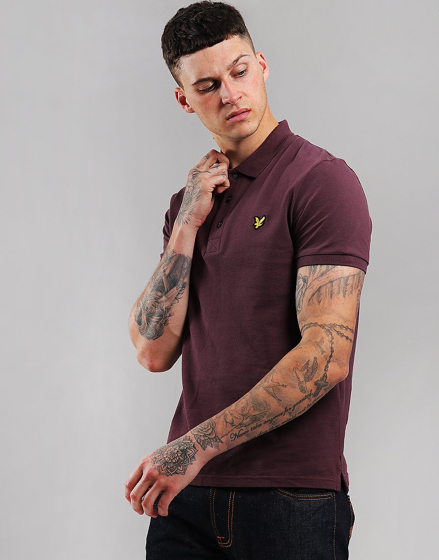 Lyle & Scott Polo Shirt Berry