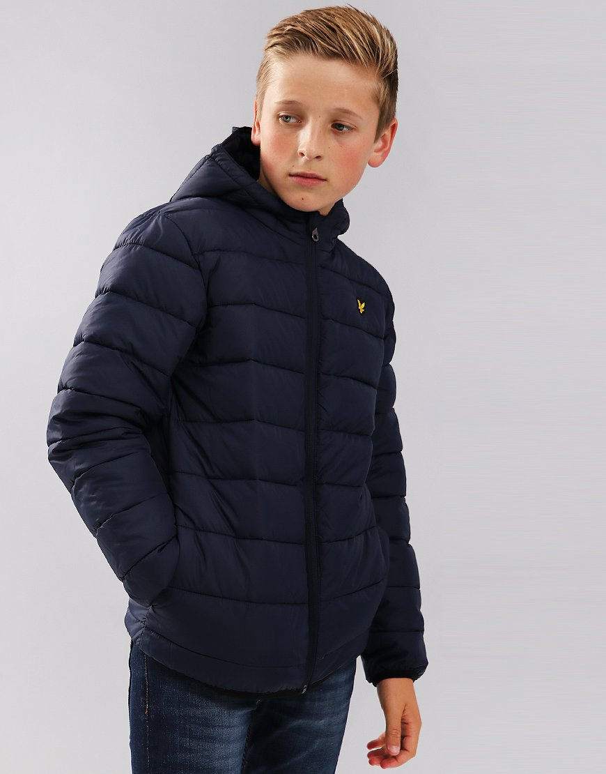 Lyle & Scott Junior Lightweight Puffer Jacket Navy