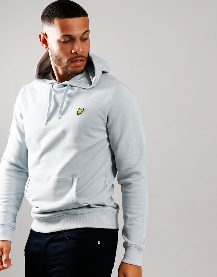 Lyle & Scott Pullover Hoodie Light Silver