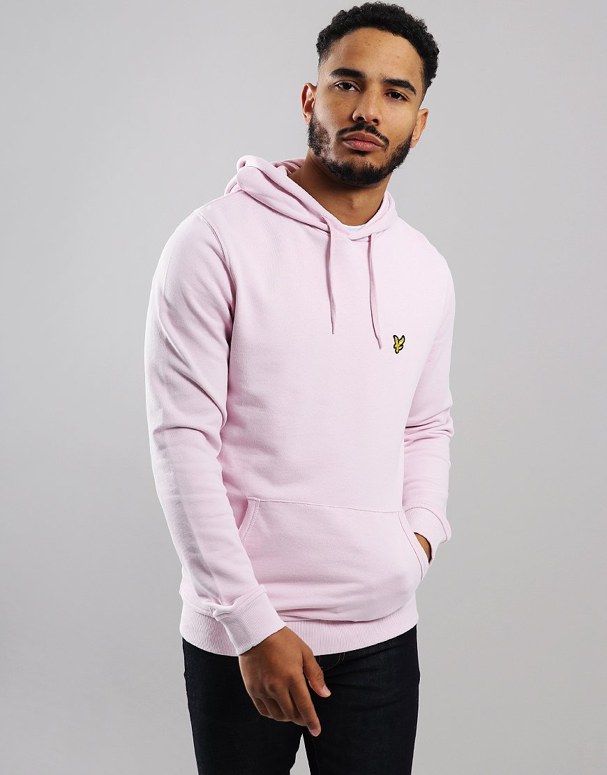 Lyle & Scott Pullover Hoodie Dusky Lilac