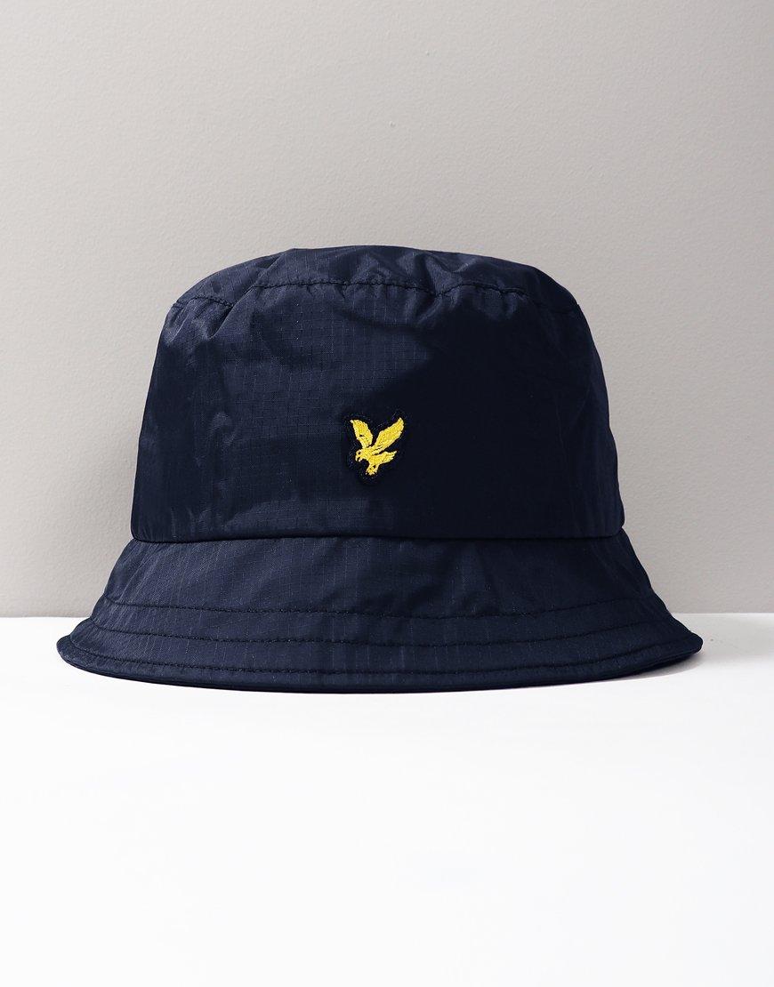 03610cc295ebb6 Lyle & Scott Ripstop Bucket Hat Navy
